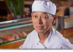 Helio Kamogawa - Assistant head chef, team